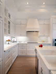 Ideas For White Kitchens white kitchen backsplash photos