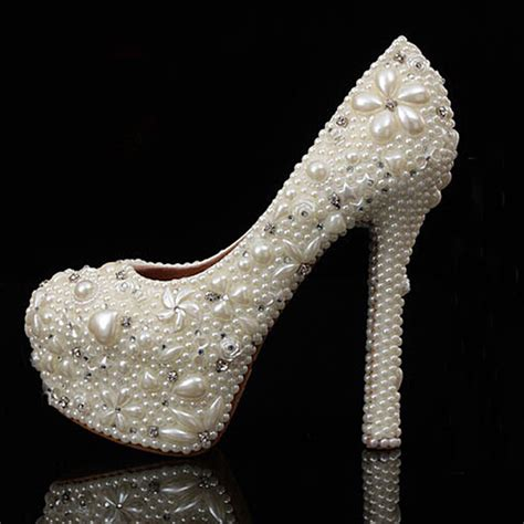 aliexpress buy high heel bridal wedding dress shoes