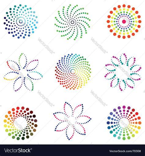design elements dot dot design elements royalty free vector image vectorstock