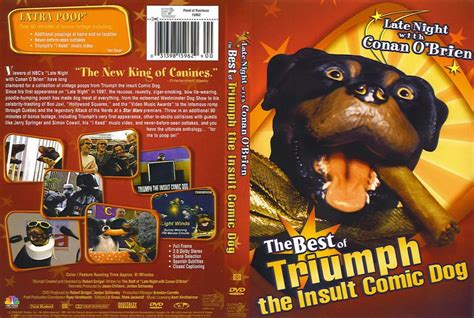 triumph the comic insult best of triumph the insult comic conan o brien tv dvd scanned covers 744best