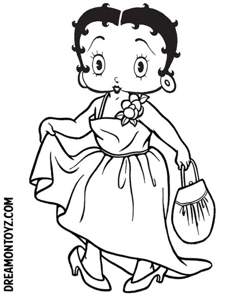 betty boop pictures archive halloween betty boop coloring