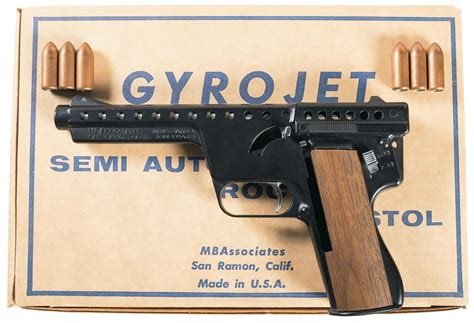Mba Consignment Sale by Mba Gyrojet Ii Pistol Firearms Auction Lot 915