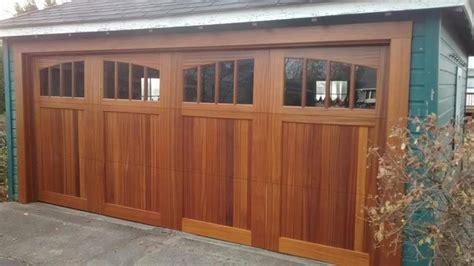 Mahogany Garage Door Mahogany Garage Doors Carriage Doors Contemporary Garage Dc Metro By Clingerman Doors