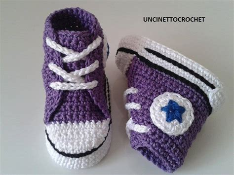 converse crochet sneakers baby crochet converse newborn sneakers by uncinettocrochet