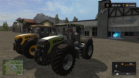 Modern Ls by Jcb Fastrac 4220 Kg And Vf Converted V1 Ls17 Mod