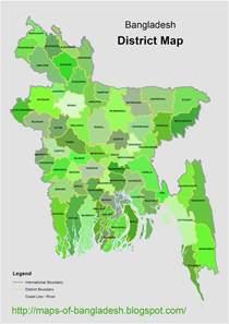 bangladesh all zila map