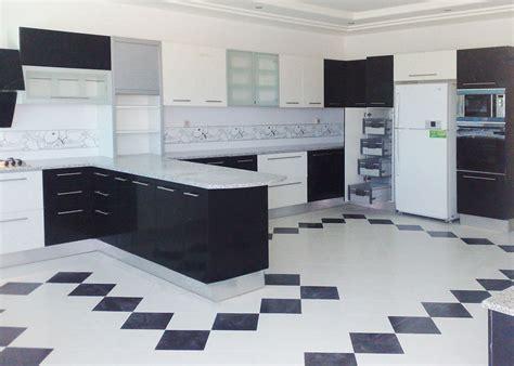 cuisine noir blanc cuisine noir et blanc top cuisine