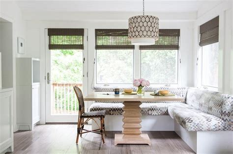 room table l l shaped banquette eclectic dining room eric
