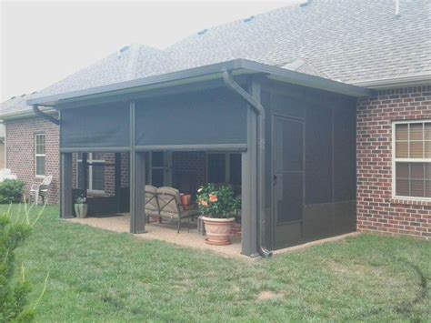 Patio Shades by Cedar Park Retractable Patio Shades Solar Screens