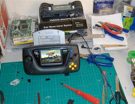 game gear tv mod amaze your childhood self with this n64 game gear mod video