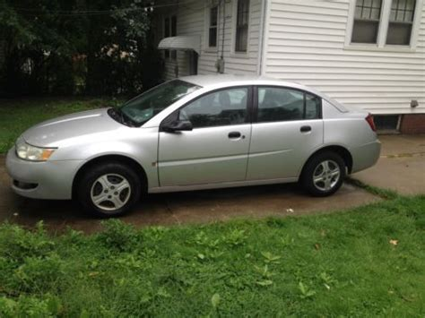 auto air conditioning repair 2003 saturn ion lane departure warning find used 2003 saturn ion in cleveland ohio united states for us 2 200 00