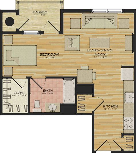 studio apt floor plan studio apartments flats 520 north haven ct appartments