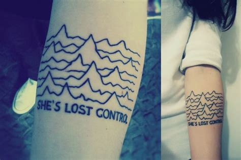 joker tattoo studio wolmirstedt this is my first tattoo inspired by joy division s