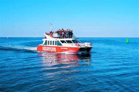 aquavision glass boat catamaran umag aquavision umag bild von aquavision glassboat katamaran