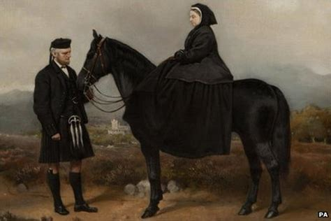 queen victoria and mr brown film queen victoria portrait to go up for auction bbc news