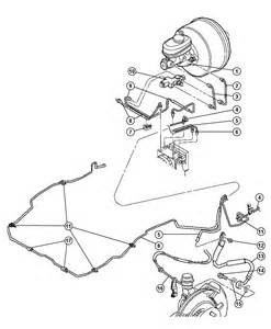 Jeep Wrangler Brake System Diagram 1998 Jeep Wrangler Brake Lines And Hoses Front Lhd With Abs