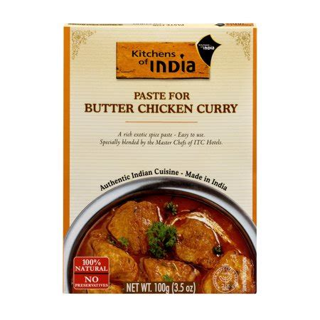 Kitchens Of India Paste by Kitchens Of India Paste For Butter Chicken Curry 3 5 Oz
