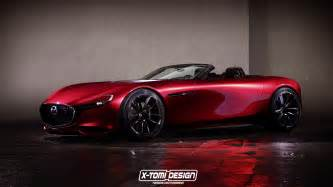 Madza Rx Mazda Rx Vision Looks Stunning As A Roadster Gtspirit