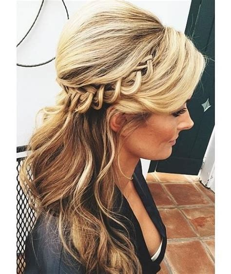maid of honor hairstyles maid of honor updo hair pinterest