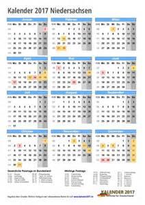 Kalender 2018 Niedersachsen Zum Ausdrucken Kalender 2017 Niedersachsen Zum Ausdrucken Kalender 2017
