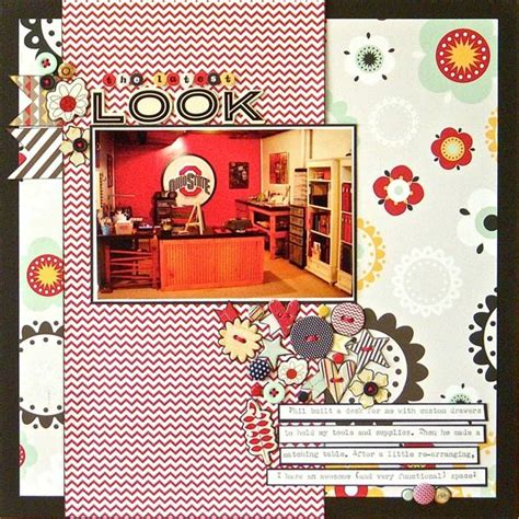 scrapbook quilt layout 11 best images about color red on scrapbook pages on