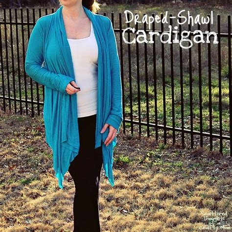 tutorial pashmina dijadikan cardigan draped shawl cardigan pattern review and mini tutorial