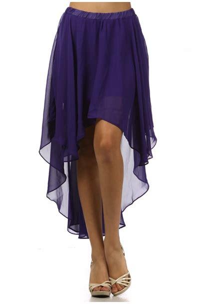 chiffon skirt dressed up
