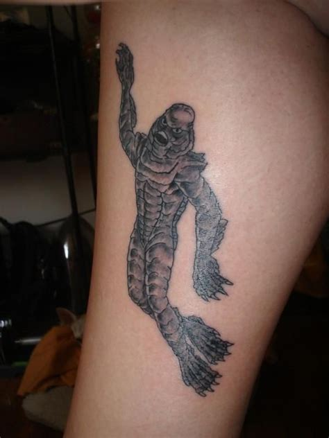 creature from the black lagoon tattoo creature of the black lagoon i you