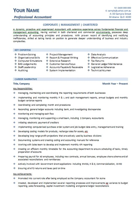 sle accountant resume 10 exles 28 images accounting