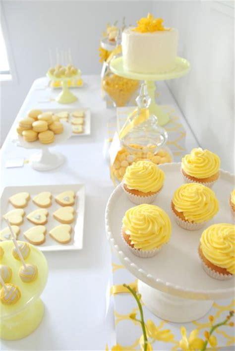 je veux une sweet table compl 232 tement citronn 233 e mariage
