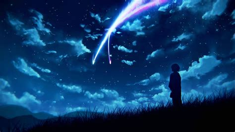 your name anime your name mitsuha miyamizu kimi no na wa wallpaper