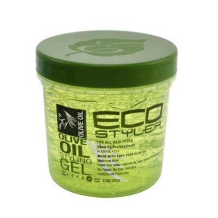 packing hair gel ecoco ecostyler styling gel olive oil 16 oz pack of 3