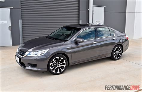 honda accord 2015 sport honda accord sport hybrid review performancedrive