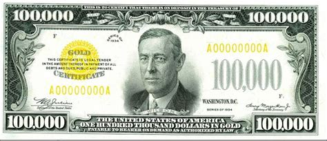Uang 100 000 Dolar Usa 1934 facts to do with the number 100 000 slapped ham