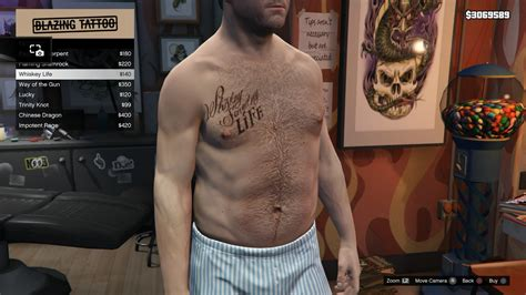image tattoo michael torso gtav whiskey life jpg gta