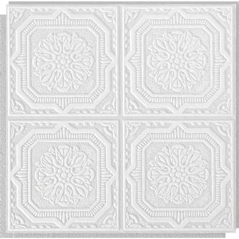 Tin Ceiling Tiles 12x12 by Shop Armstrong Ceilings Common 12 In X 12 In Actual 11