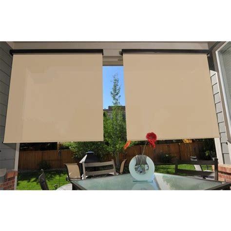 store vertical enrouleur ext 233 rieur pour terrasse ou balcon anthracite m 233 tallique dune 1 4