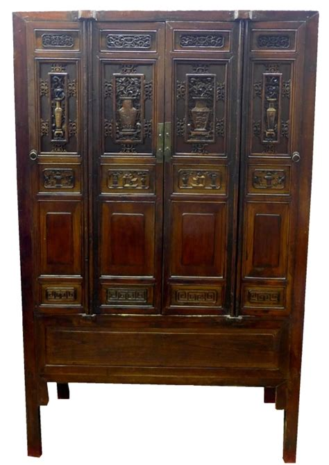 antique chinese armoire antique chinese hand carved wood armoire cabinet