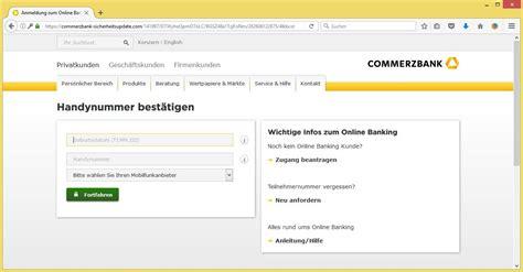 login toyota bank de erstmalige registrierung commerzbanking de banking der commerzbank