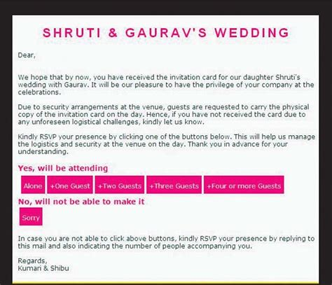 inviting for wedding through email sle wedding invitation wording wedding invitation wording for