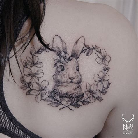 awesome tattoo style concepts rabbit tattoo for men and