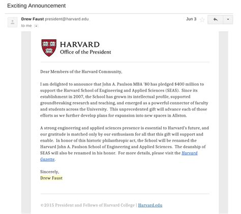 Harvard College Letterhead Karim Pirbay Is An Email Scammer