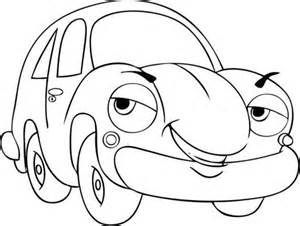 Galerry car cartoon for coloring