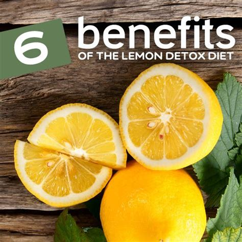 The Lemon Detox Diet by How 6 Benefits Of The Lemon Detox Can Help You