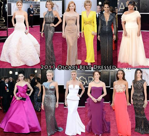 2013 oscar best who was your best dressed at the 2013 oscars carpet