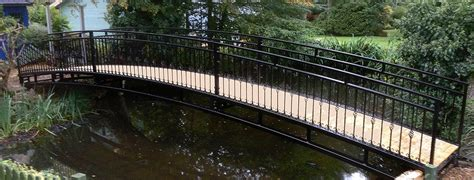 landscape bridges ornamental garden bridge small american hwy