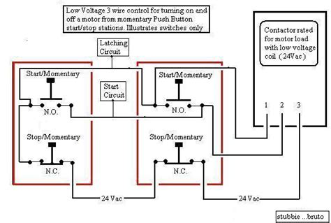 wiring diagram start stop motor alexiustoday