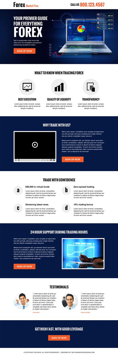 forex landing page template forex marketing guide landing page 004 forex trading