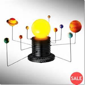 Motorized solar system earth planets astronomy sun model new ebay