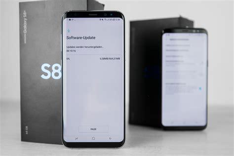 samsung galaxy s8 bixby kommt in deutschland erst samsung galaxy s8 update in deutschland mit verbesserungen bixby und gesichtserkennung